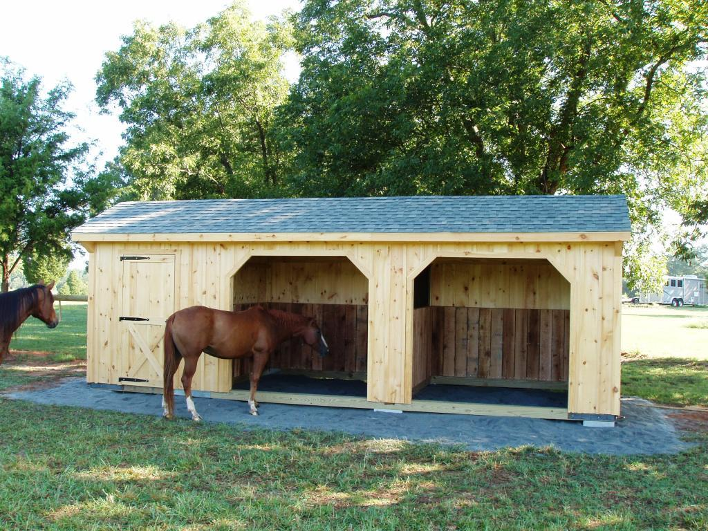 horse mig with sheds run storage barn metal x details green in kits shed building roof