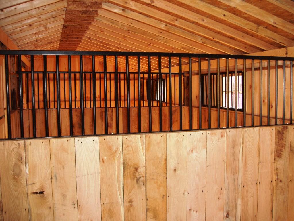 Amish Built Horse Barns